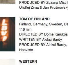 Selected films for EFA